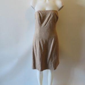 SHOSHANNA CHEVRON PATTERN BUSTIER DRESS 10 *